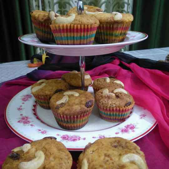 Photo of Carrot cup cakes by Geeta Sachdev at BetterButter