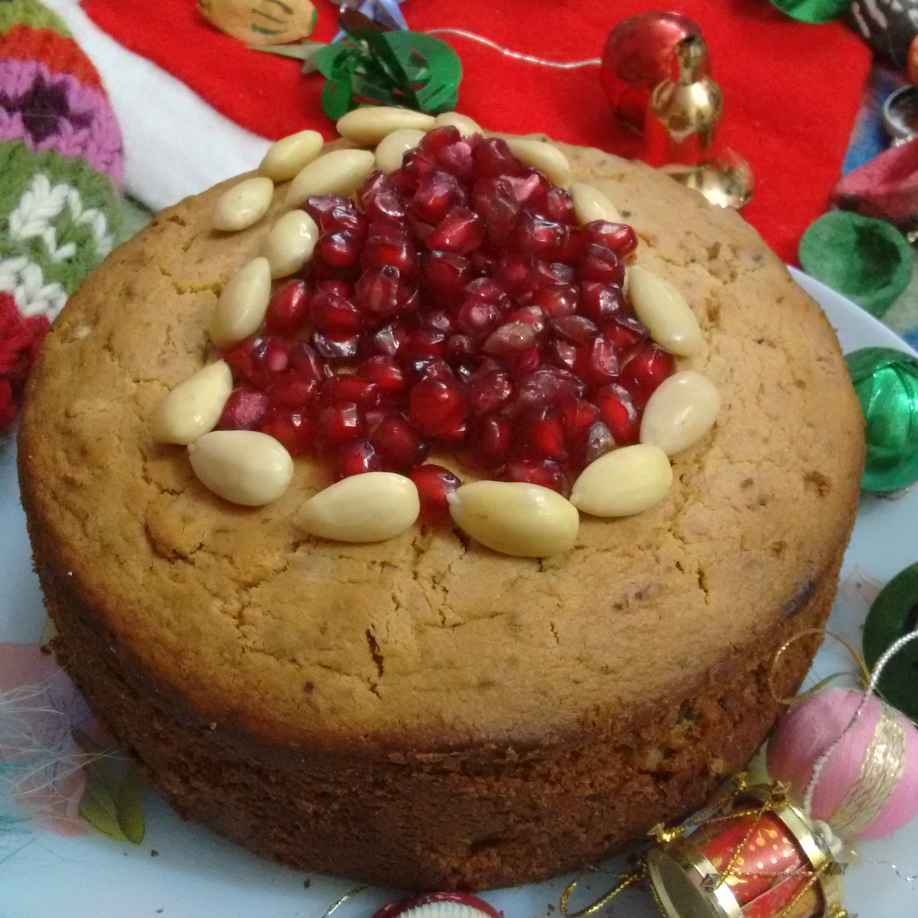 Photo of Christmas Cake by Geeta Sachdev at BetterButter