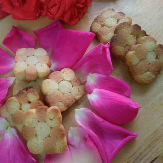 Photo of Rose Flavoured Cahewnut Cookies /Biscuits by Geeta Sachdev at BetterButter