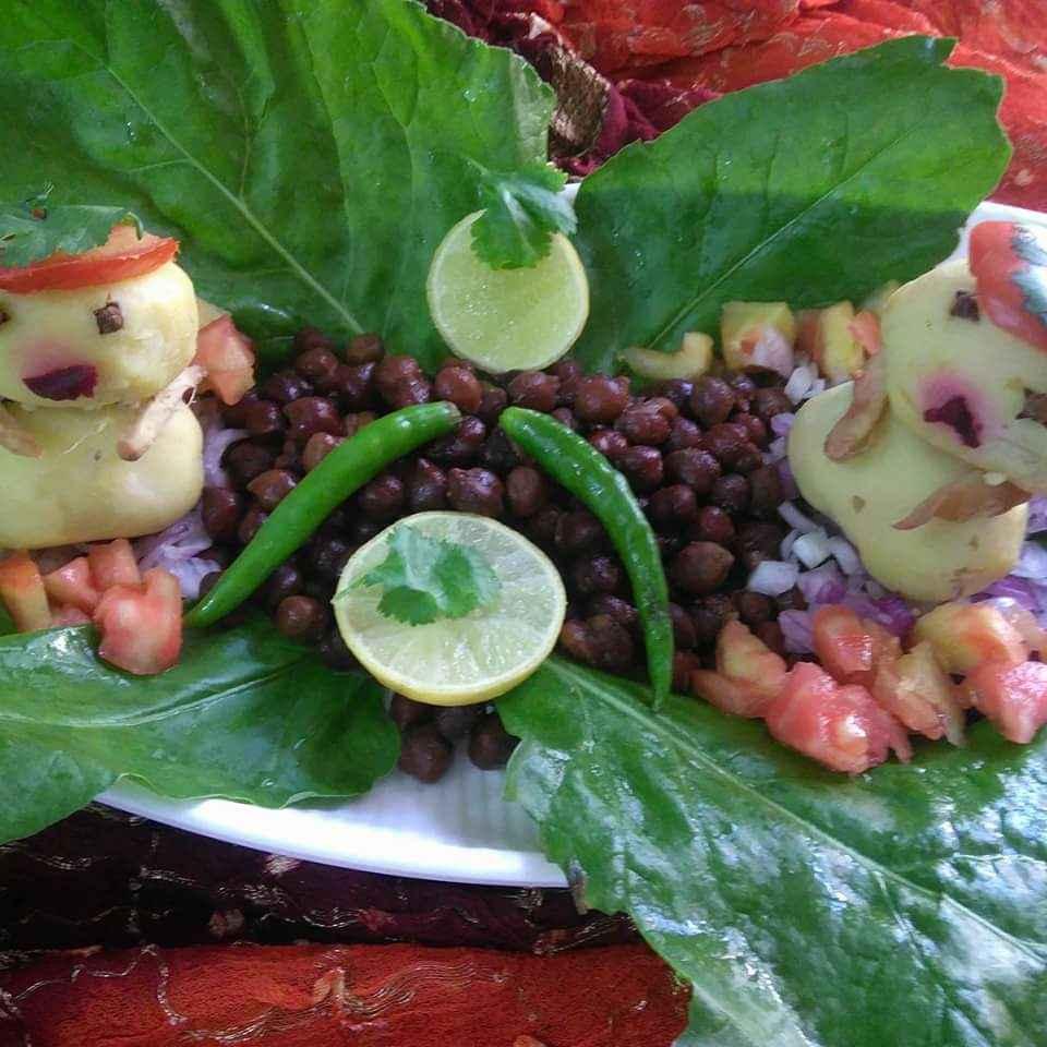 Photo of Kala chana potato salad by Geeta Sachdev at BetterButter