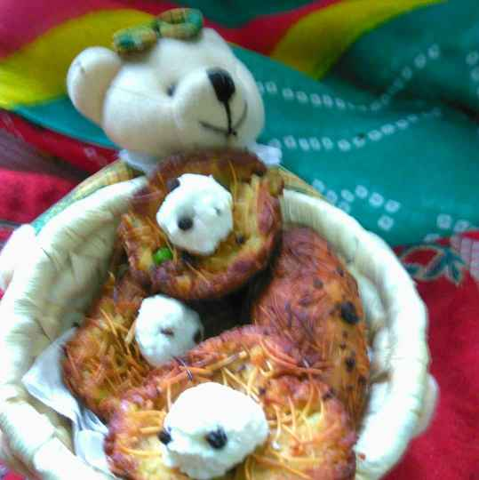 Photo of Potato nest /aalu ka ghonsla by Geeta Sachdev at BetterButter
