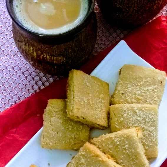 How to make गेहूं के आटे से बनी कोकोनट कुकीज