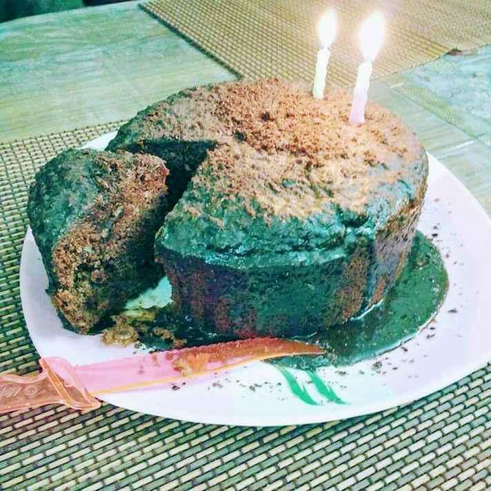 How to make अलसी के बीज वाला चॉकलेट केक