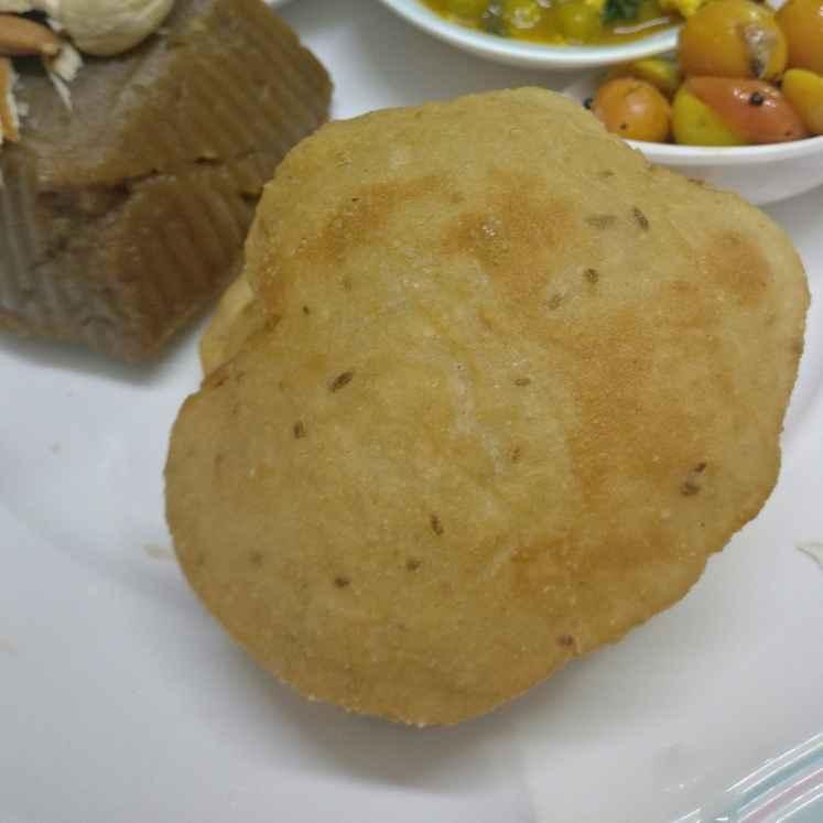 How to make Rice flour puri