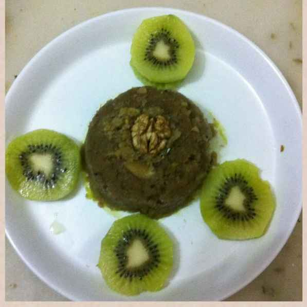 How to make Kiwi halwa