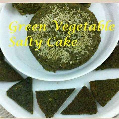 Photo of Green Savory Cake by Geeta Virmani at BetterButter