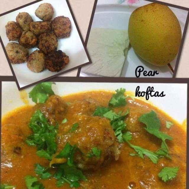 How to make Pear koftas