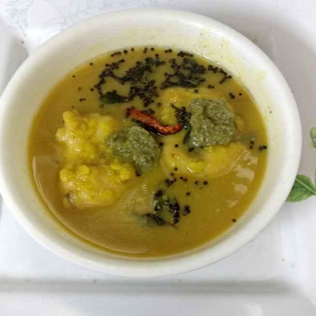Photo of Sambhar vada....a south Indian dish by Geeta Virmani at BetterButter
