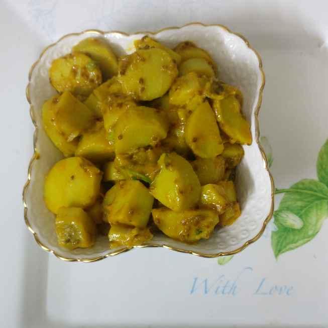 Photo of Dahi wali arbi by Geeta Virmani at BetterButter