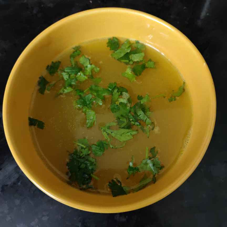 How to make दाल सूप
