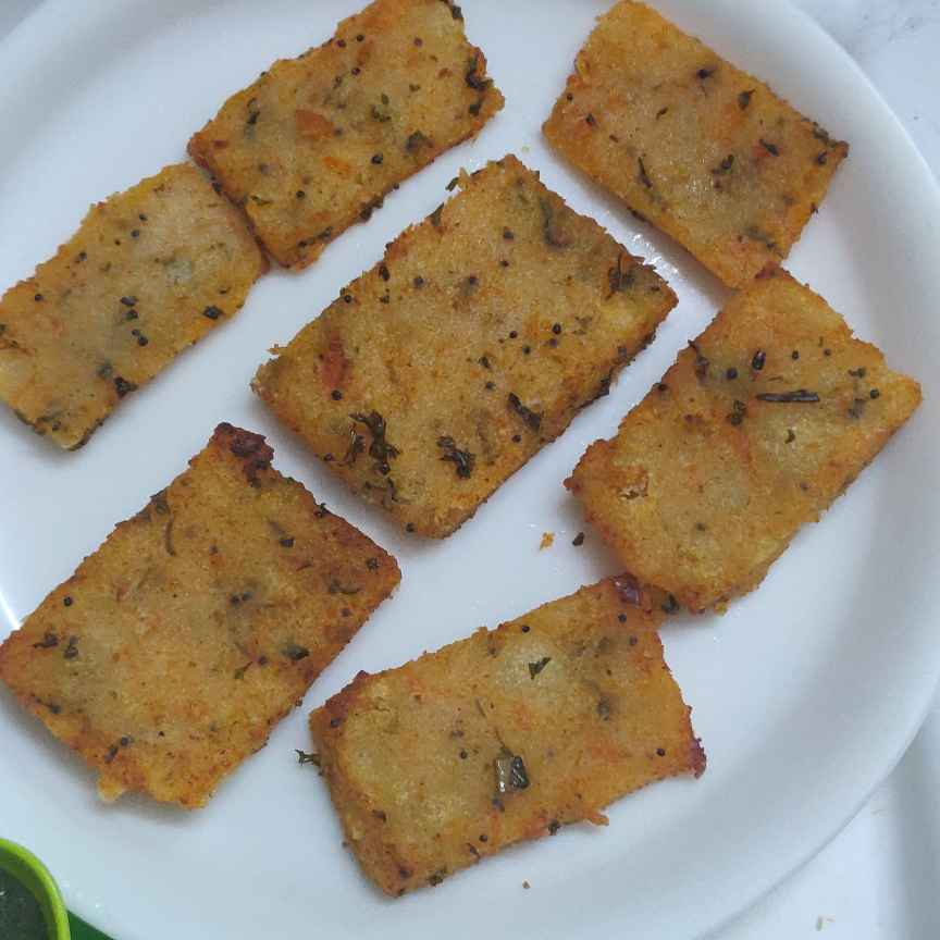 Photo of Sooj and tomato Cutlets by Geeta Virmani at BetterButter