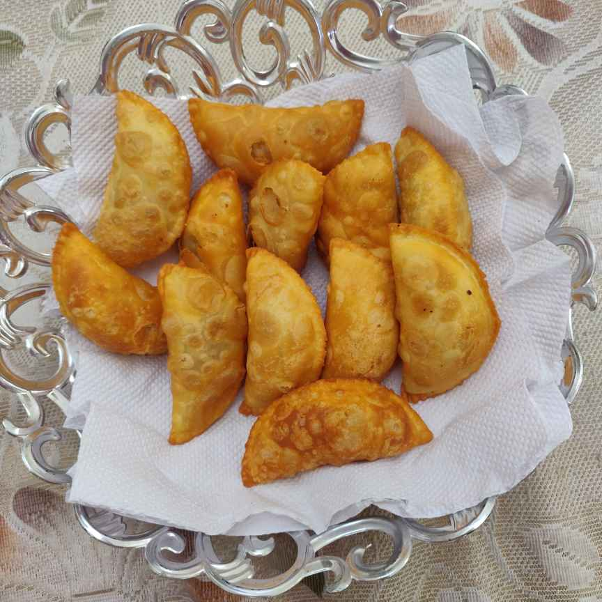 How to make गुझिया
