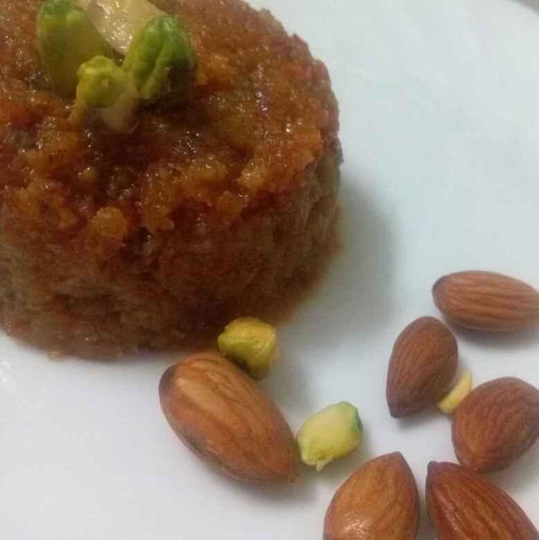 Photo of Fusion of Carrot Coconut Halwa by Geetanjali Kolvekar Saini at BetterButter