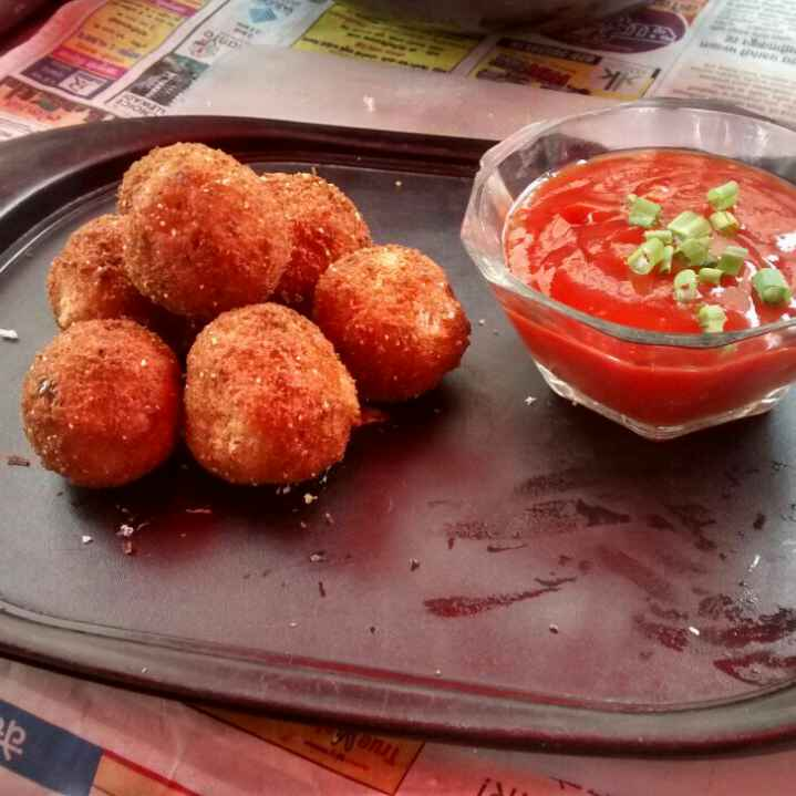 How to make Corn Spinach Cheese Balls