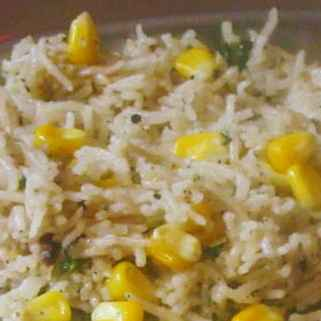 Photo of Sweetcorn Pulao by Geetha Sivanesan at BetterButter