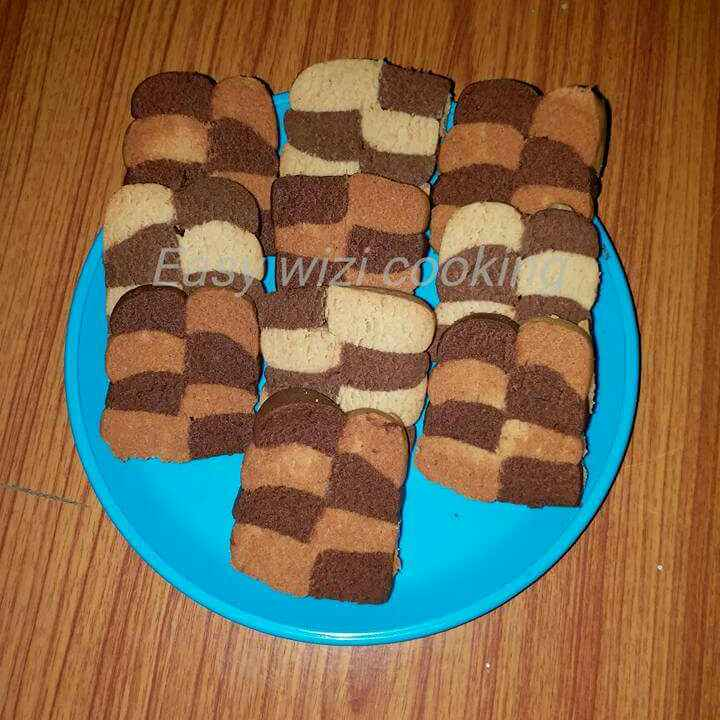 Photo of Checkboard pattern whole wheat cookies by Geetica Roy at BetterButter