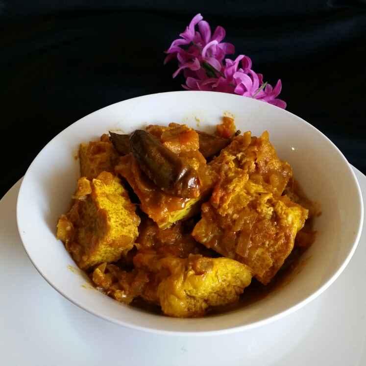 Photo of Vapa Egg  Curry by Godhuli Mukherjee at BetterButter