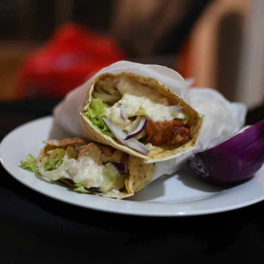 Photo of Tandoori chicken egg chia wrap by Godhuli Mukherjee at BetterButter