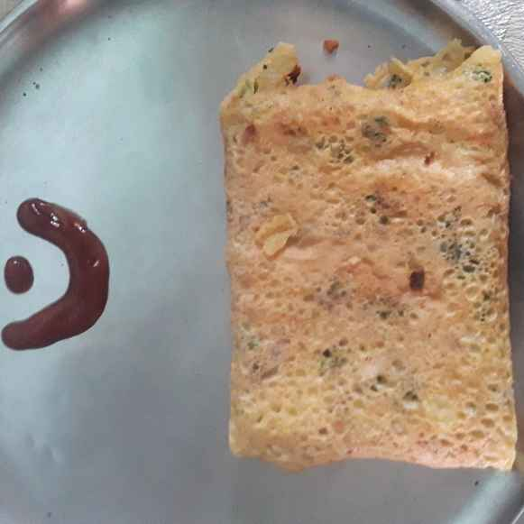 Photo of EGGLESS omleet by Gouri Deshpande at BetterButter