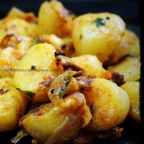 Photo of Baby Potato Masala by Gouthami Yuvarajan at BetterButter