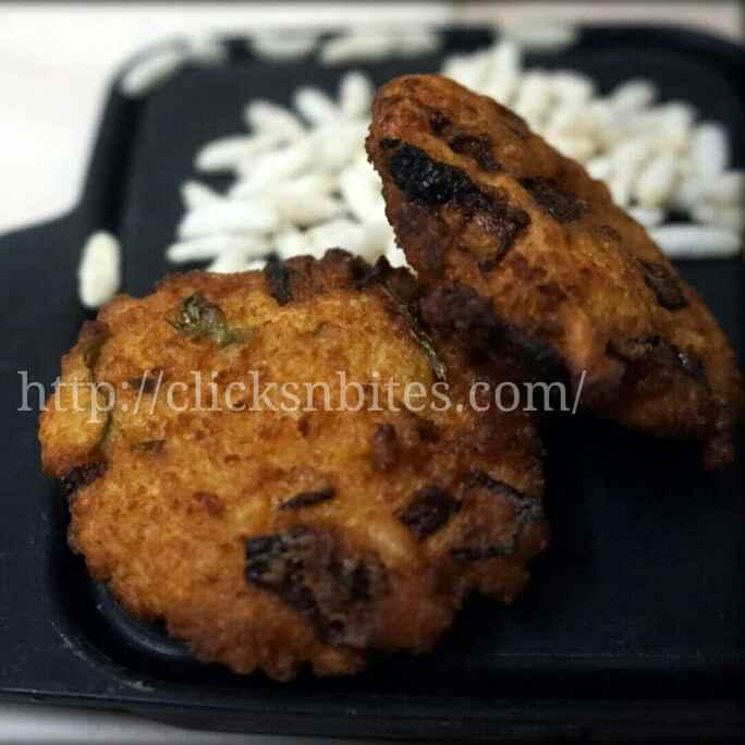 How to make Puffed Rice Vada