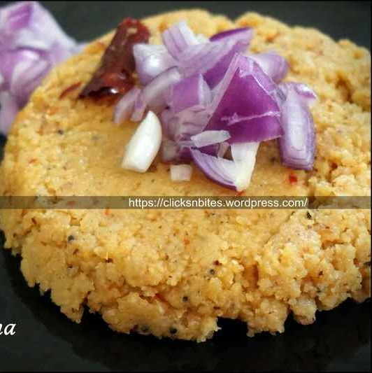 How to make Coconut Upma