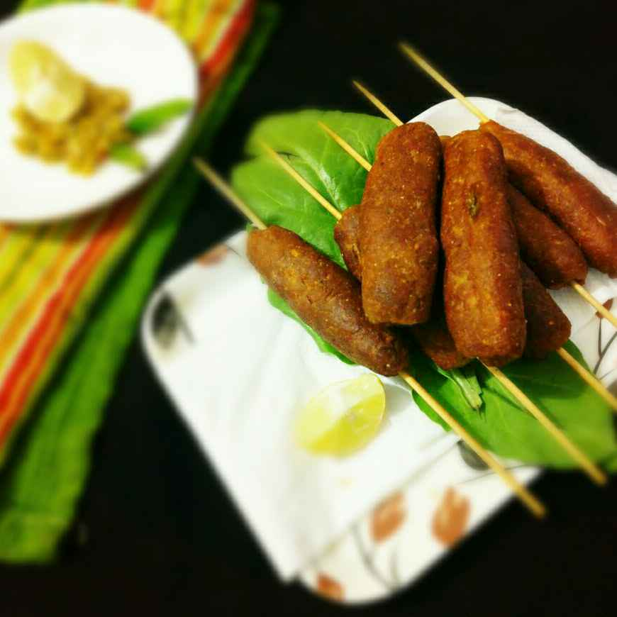 How to make Chicken Seekh Kabab