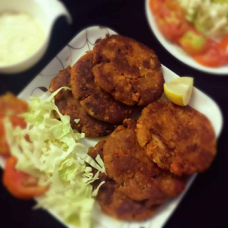 Photo of Veg chapli kabab by Shaheda Tabish at BetterButter