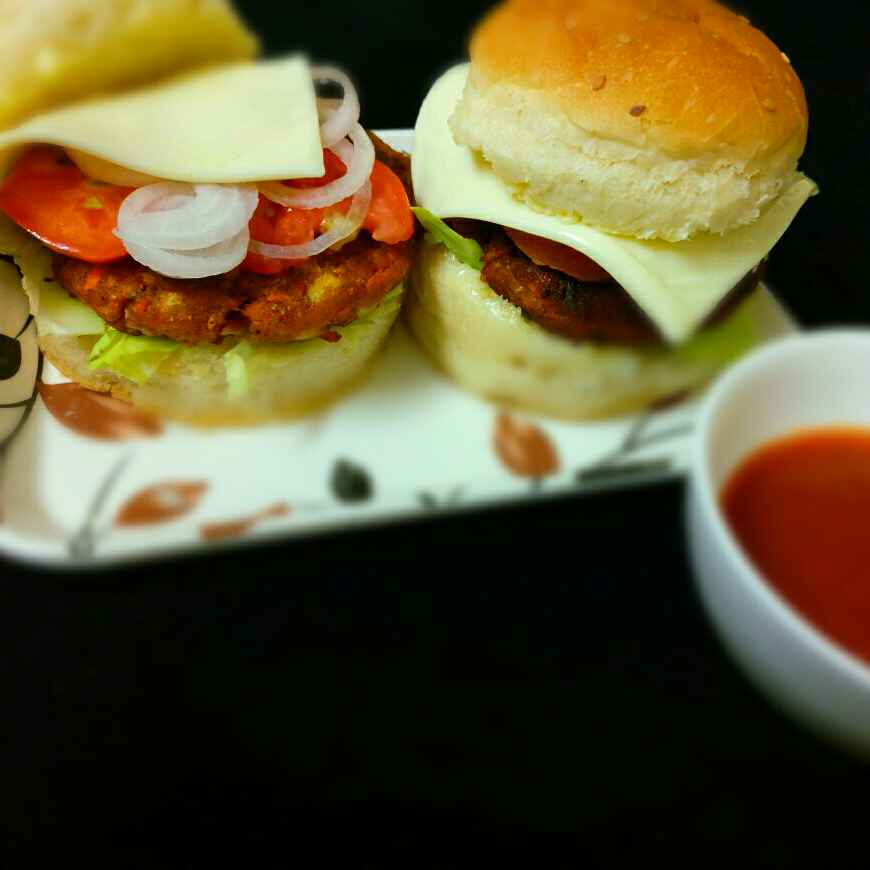 Photo of Chicken Burger by Shaheda Tabish at BetterButter