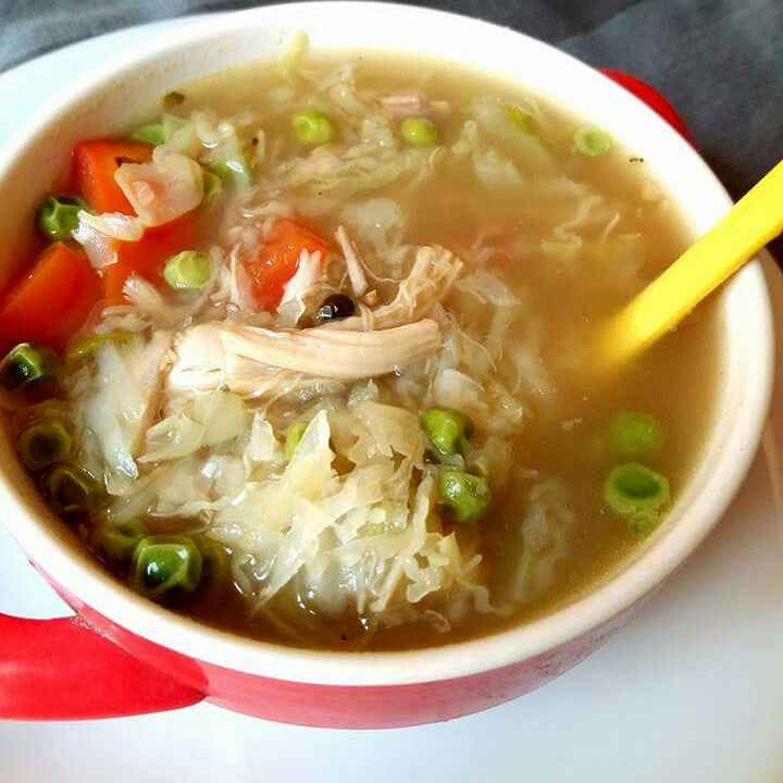 Photo of Chicken Vegetable Soup by Shaheda Tabish at BetterButter