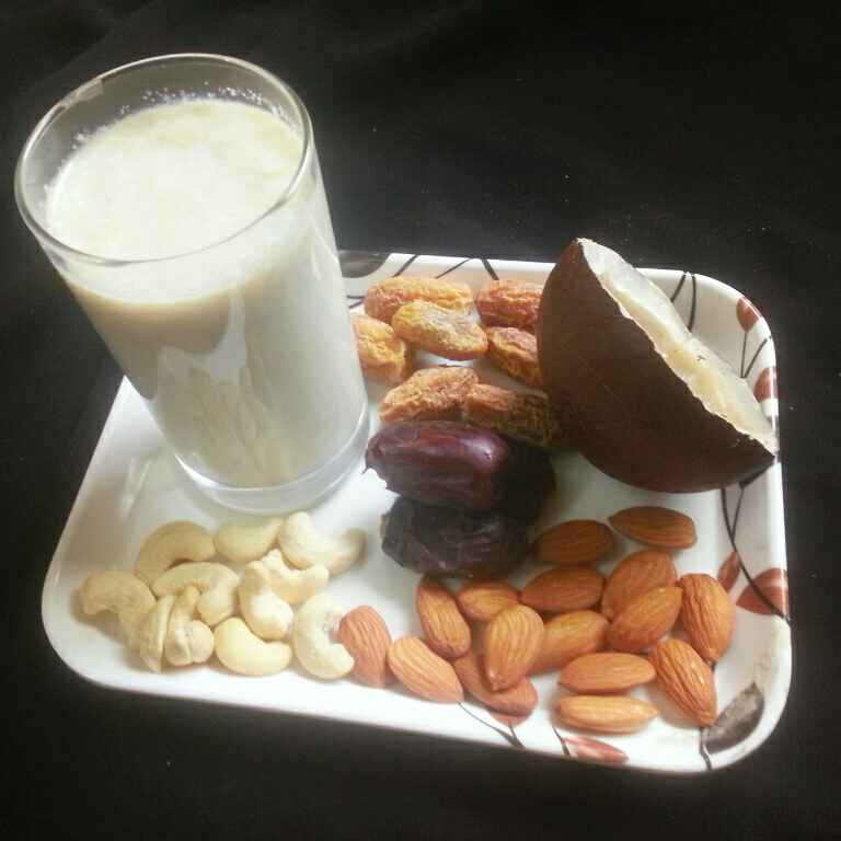Photo of Turri- dry fruit milk by Shaheda Tabish at BetterButter