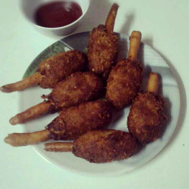 Photo of Cutlet stick by Shaheda Tabish at BetterButter