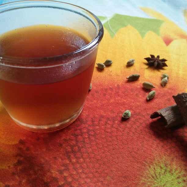 Photo of Kashmiri kahva chay by Shaheda Tabish at BetterButter