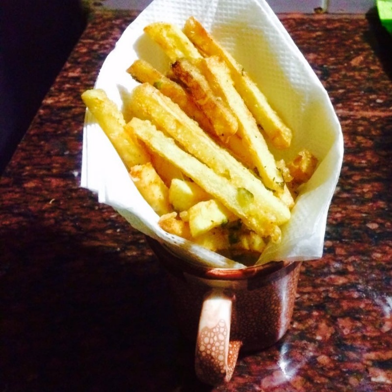 How to make INSTANT MASALA FRENCH FRIES