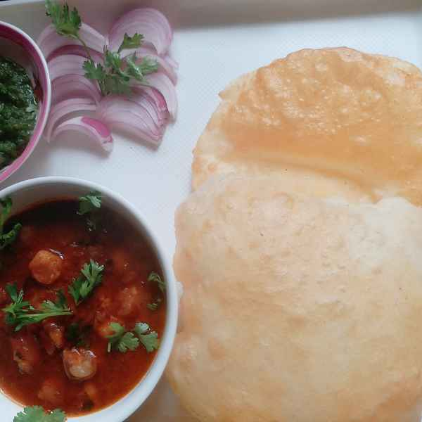Photo of Bhature chhole by Gurpreet Kaur at BetterButter