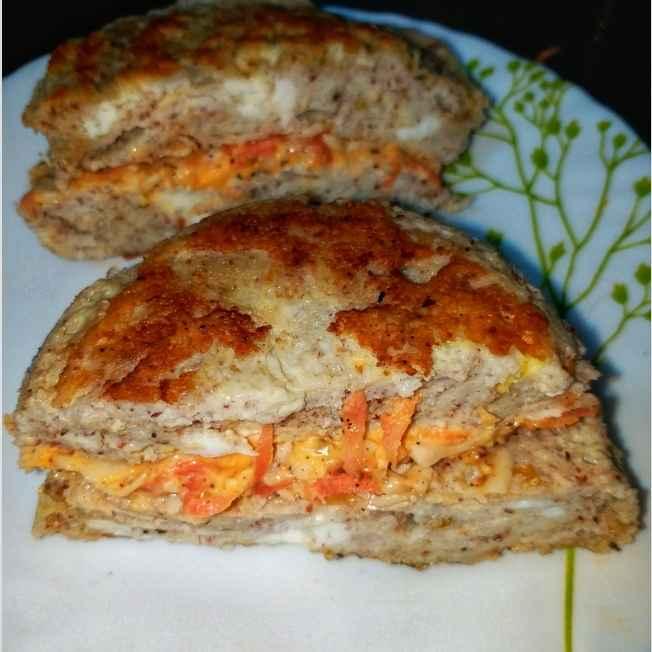 Photo of Keto Egg Sandwich by Gurpreet Kaur at BetterButter