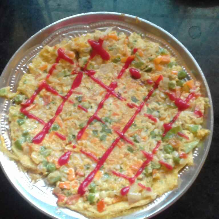 Photo of Pasta vegetable Omlet by hajirasheed haroon at BetterButter