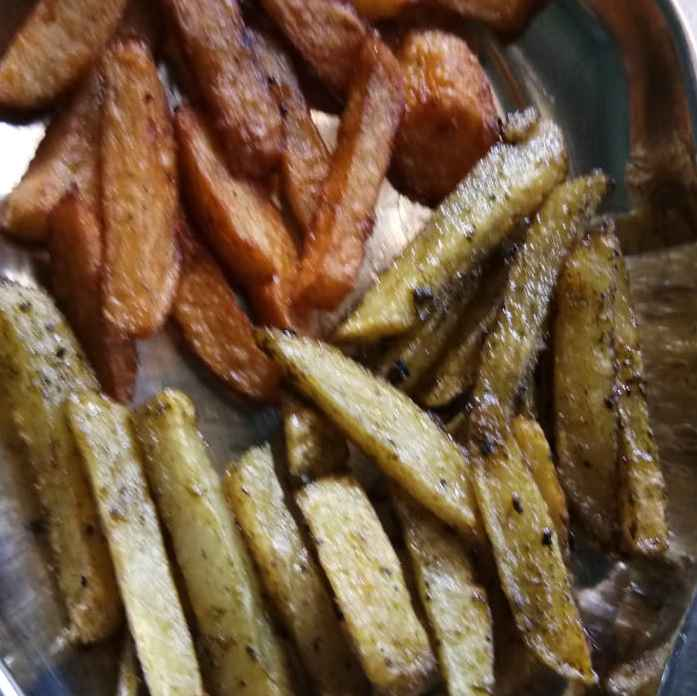 Photo of Two colours of french fry by hajirasheed haroon at BetterButter