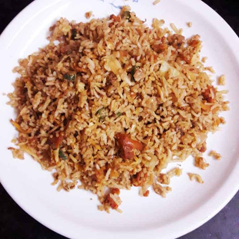 Photo of Schezwan chicken fried rice by hajirasheed haroon at BetterButter