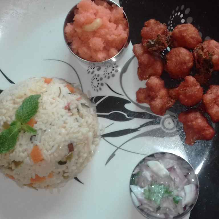 Photo of Vegtable pulav by hajirasheed haroon at BetterButter