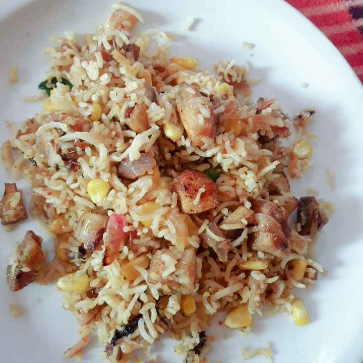 Photo of Banana sweet corn rice by hajirasheed haroon at BetterButter