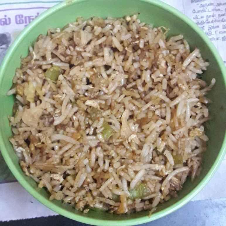 Photo of Bottlegourd egg rice by hajirasheed haroon at BetterButter