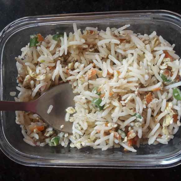 Photo of Egg fried rice by hajirasheed haroon at BetterButter