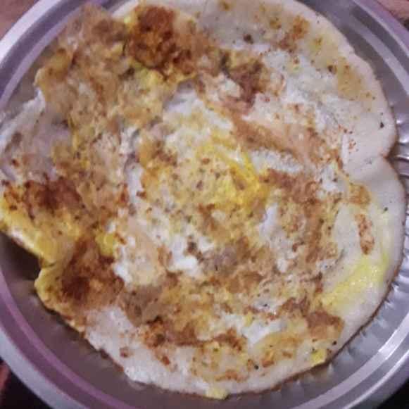 Photo of spicy egg masala dosai by hajirasheed haroon at BetterButter