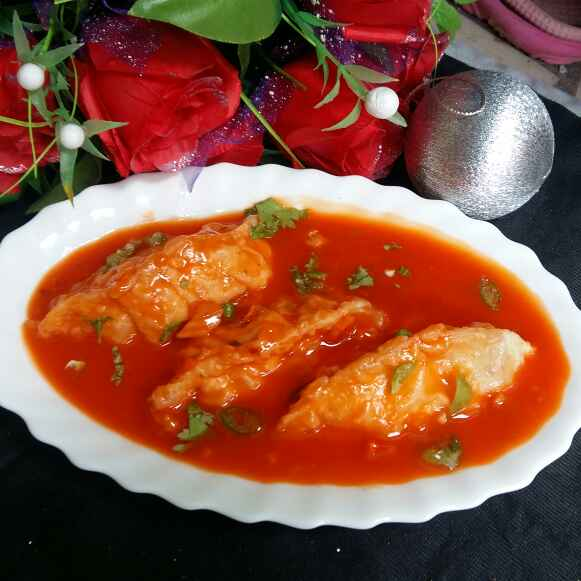 Photo of Gravy Chicken Momos by Hameed Nooh at BetterButter