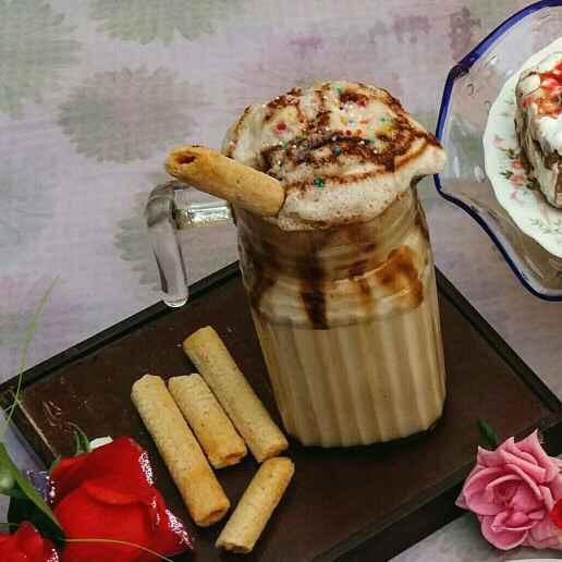 How to make Salted Caramel Milkshake