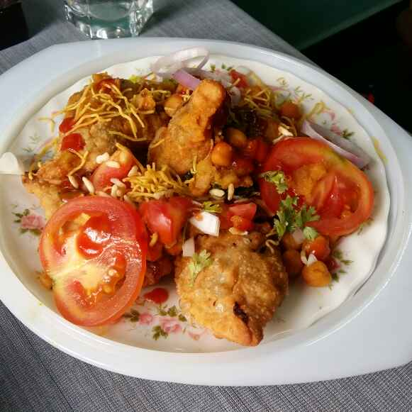 Photo of Yummy Samosa Chaat by Hameed Nooh at BetterButter