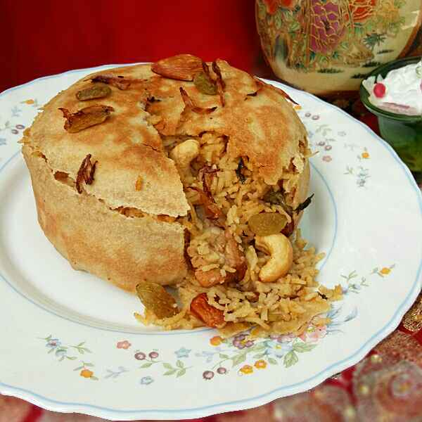 Photo of Chicken Parda Biryani Cake by Hameed Nooh at BetterButter