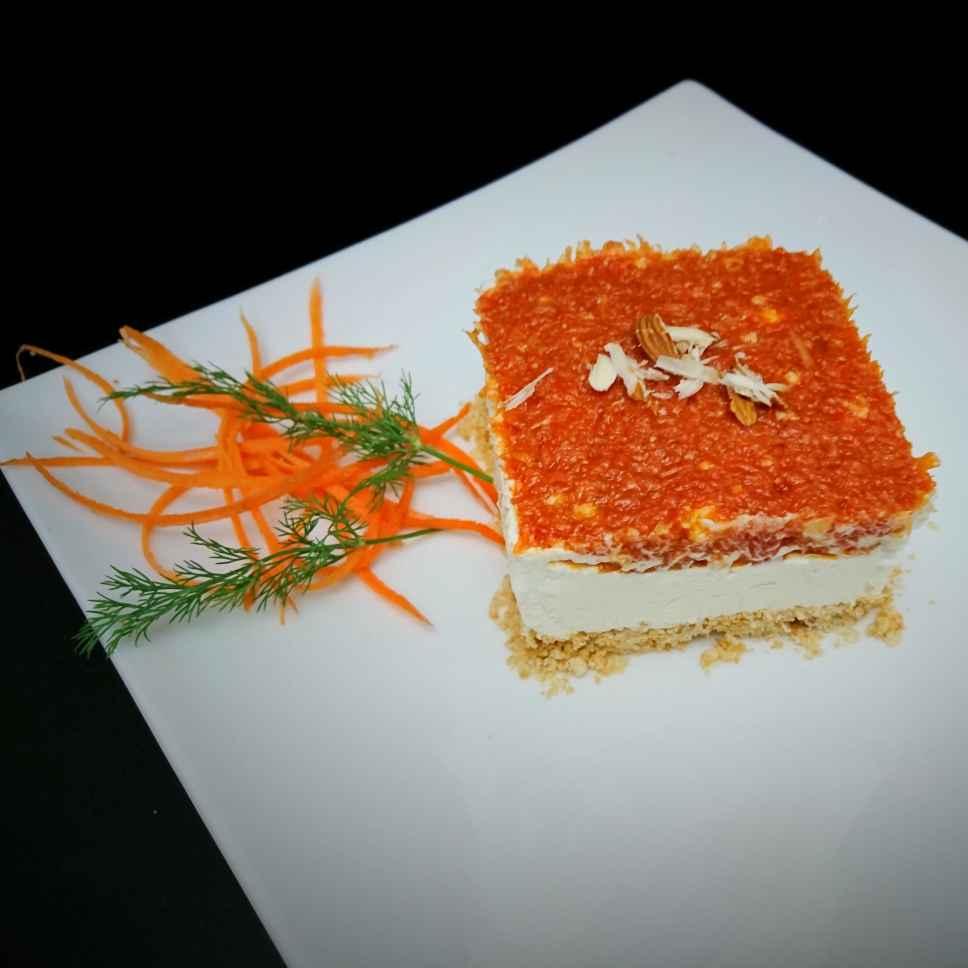 How to make Gajar halwa Cheesecake