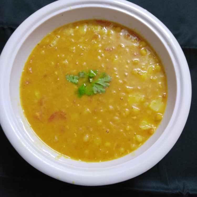 How to make Ragda panipuri